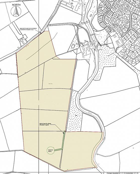 Approx. 46.8 acres of Land adj. to 28 Priestland Road