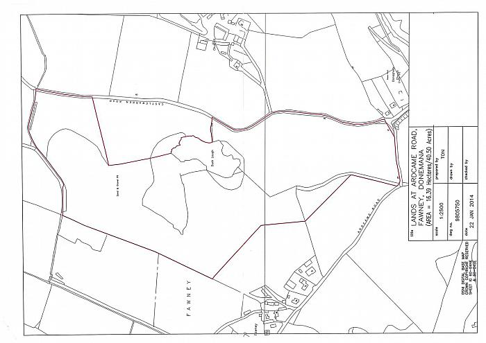 Land situated at Fawney